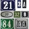 Huisnummers standaard