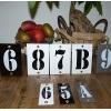 Huisnummers industrieel