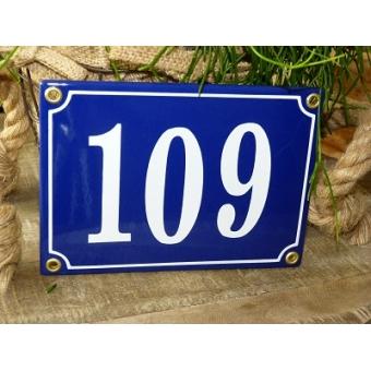 Huisnummer bord 'extra 3' 17x13 cm