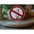 Emaille verbodsbod pictogram 'verboden te bellen'